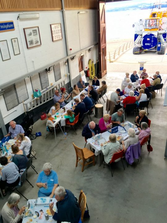 Exmouth RNLI fish and chip supper 2016