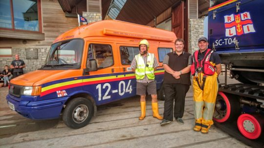 PR020916 Lifeboat Van Oscar Charlie